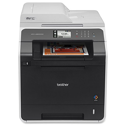 Brother Printer MFCL8600CDW Wireless Color Printer with Scanner, Copier and Fax, Amazon Dash Replenishment Ready