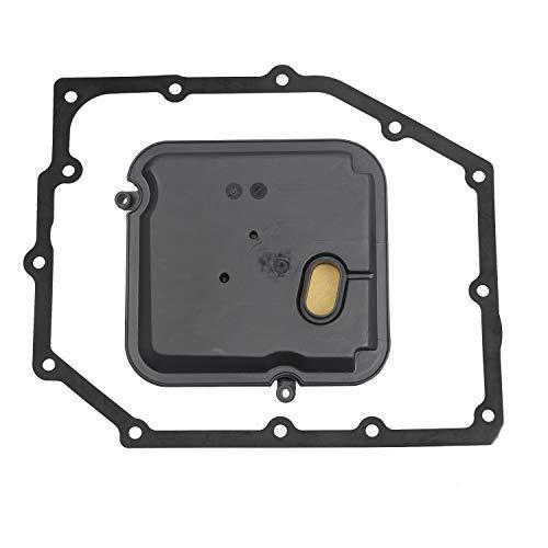 HERCOO 42RLE Transmission Filter Kit pan gasket Compatible With Liberty & Wrangler/Dodge Dakota & Durango & Magnum & Nitro & Charger 300 52852913AB