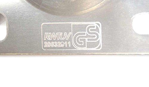 Support mural de fixation 45 cm en aluminium pour antenne parabole satellite ou antenne terrestre