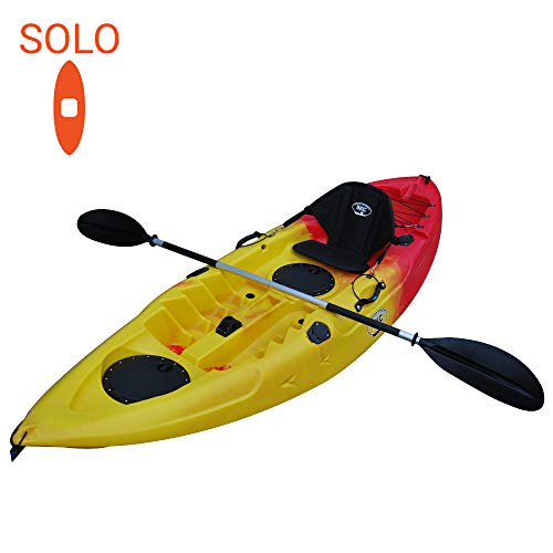 BKC Sit on Top Single Fishing Kayak