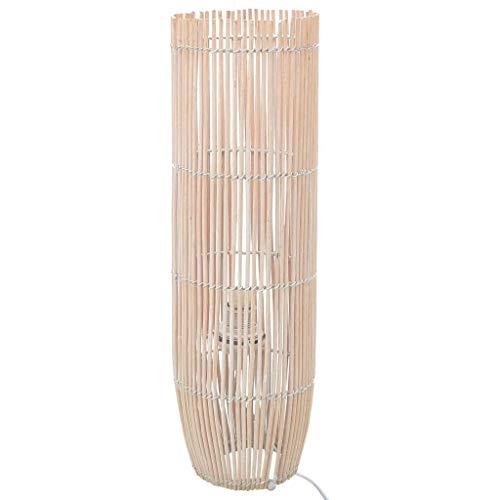 UnfadeMemory Lámpara de Pie para Salón,Decoración de Hogar,Sauce E27 (18x52cm, Blanco)