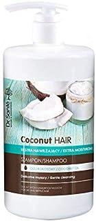Dr Sante - Champú Extra Hidratante de Aceite de Coco para Pelo Dañado Natural sin Parabenos 1000ml