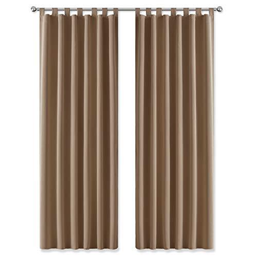 cortinas dormitorio juvenil marron