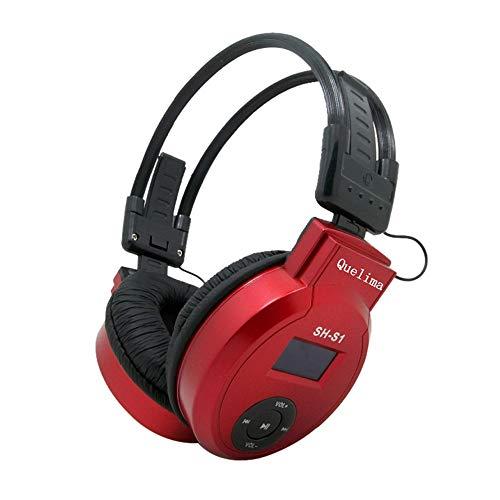 hahashop2 Active Noise Cancelling Kopfhörer, Tiefer Bass mit CVC Geräuschunterdrückendes Mikrofon, 24 Std. Wiedergabedauer Sport-Headset mit drahtlosem Karten-Headset