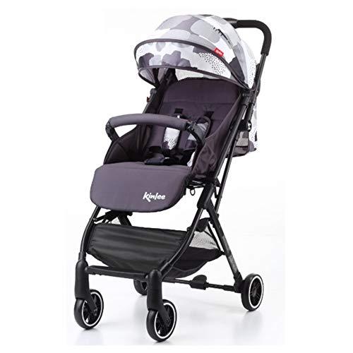 Kinderwagen, super licht, kan het vliegtuig meenemen, voor winkelen, one-stappen, geschikt voor kinderen van 0 tot 36 maanden. color two