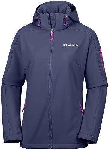 Columbia Winddichte Softshelljacke für Damen, Cascade Ridge Jacket, Polyester, blau (nocturnal), Gr. M, WL1159