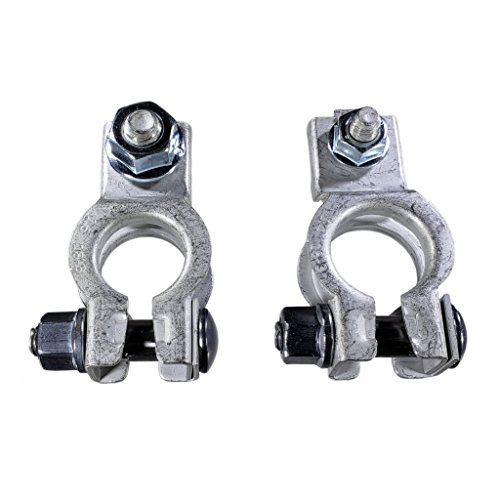 Buy Auto Supply # K13100 - Positive & Negative Battery Terminals For Automotive Top Post Batteries Aftermarket Part Fits in Place of Chrysler 5161305AA 5161306AA