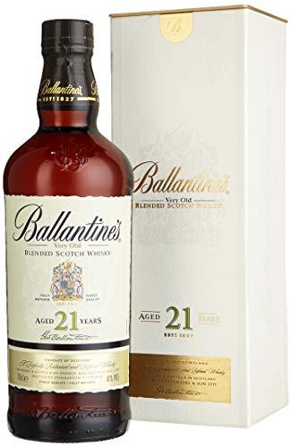 Ballantines 21 Blended Scotch Whisky – 21 Jahre alter reichhaltiger Blend mit würzigen Aromen, perfekt abgestimmten Rauchnoten & Fruchtnuancen – 1 x 0,7 L