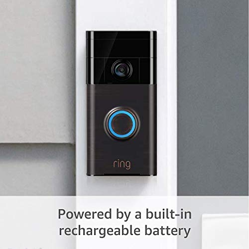 Ring Wi-Fi Enabled Video Doorbell in Venetian Bronze