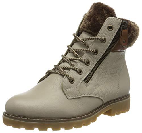 Remonte Damen D8463 Mode-Stiefel, Crema/Muskat/Setter / 80, 39 EU
