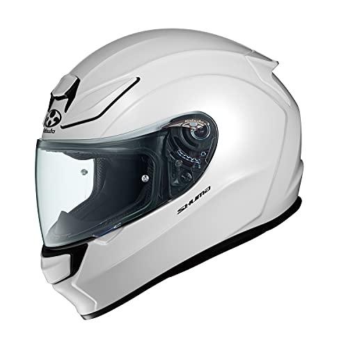 OGK KABUTO Motorcycle Helmet Full Face SHUMA Pearl White (Size: M)
