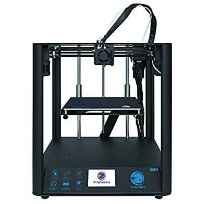 Fast Assembly 3D Printer TRONXY D01 with Industrial Linear Guide and Titan Extruder, Print Size 220x220x220mm