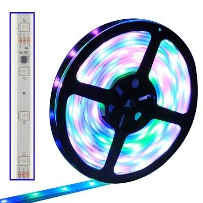 Kenggi Attrezzature per Illuminazione Domestica Rivestimento Impermeabile Pieno Colore Guidata 50 50 SMD Corda Leggera, 30 Condotto/m, Lunghezza: 5
