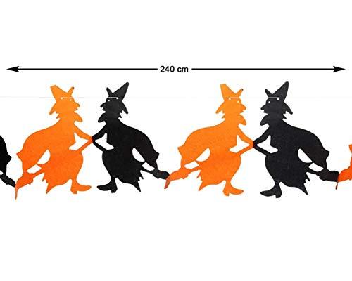 Guirnalda decorativa con brujas –240 cm
