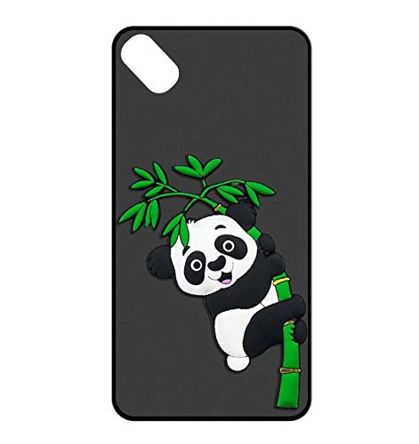 Sunrive Für Wiko Sunny 2 Plus Hülle Silikon, Handyhülle matt Schutzhülle Etui 3D Case Backcover für Wiko Sunny 2 Plus(W2 Panda 2) MEHRWEG+Gratis Universal Eingabestift