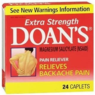 Doans Extra Strength Pain Reliever for Back Pain-24 ct. (Quantity of 5)