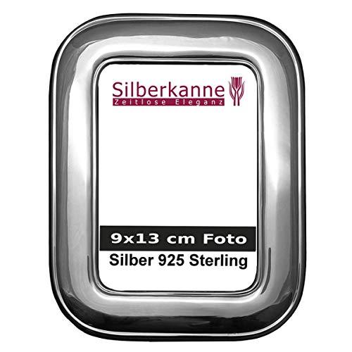 Fotolijst fotolijst zilver 925 Florence 9 x 13 cm foto met fluwelen achterkant. In topafwerking.