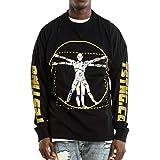 NAGRI ASAP Rocky Testing Long Sleeve Tshirt Injured Generation Tour Hip Hop Letter Printed Graphic Hoodie Black