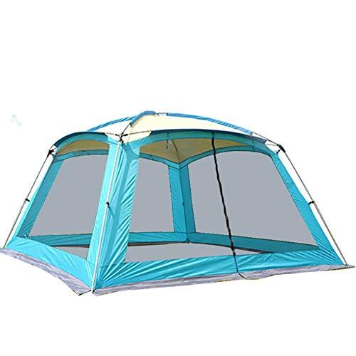 ZAOYUE Zelt 360 * 360 * 220cm 5-8 Personen Anti-Moskito Camping Pavillon Sonnenschutzzelt