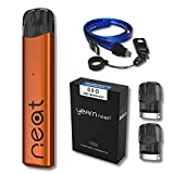 【Yearn2】Uwell Yearn Neat 2 Pod System Kit + 交換用カートリッジ + USB Type-C ネックストラップセット (Orange)