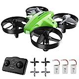 ATOYX Mini Drone para Niños, RC Helicopter Quadcopter AT-66C, 3D Flips, Modo sin Cabeza, Estabilización de Altitud, 3...