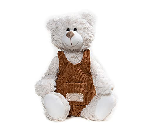 """""""Eddie"""" Weighted Microwavable Stuffed Animal – Weighted Stuffed Animals for Kids- 14 In Lavender Stuffed Animal Heating Pad - Heatable Stuffed Animals."""
