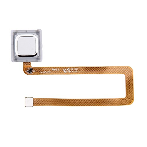 Spare Ersatzteile für das Huawei Ascend Mate 7 Fingerprint Sensor Flex-Kabel (Farbe : Silber)