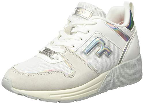 Replay Damen Ice - PLUGIN Sneaker, Silber (Iridescent Silver 2799), 39 EU