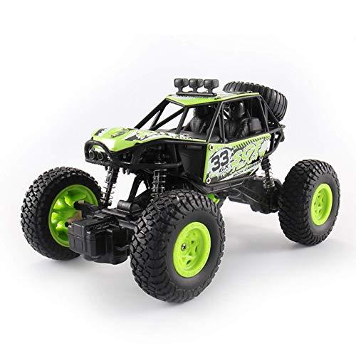 WGFGXQ Coche de Control Remoto - Regalo de Juguete RC Crawler Car para niños de 6 a 12 años, Camión Todoterreno 4WD para niños y niñas