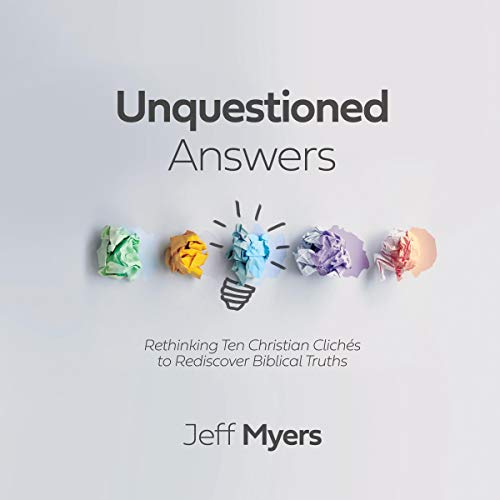 Unquestioned Answers cover art