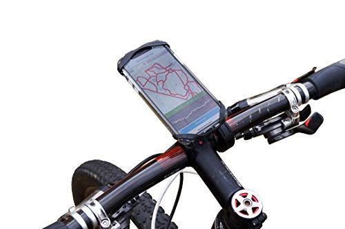 TrailKASE Universal Phone Holder for Your Bike - Fits iPhone 11, 11 Max Pro, X, XR, 8 | 8 Plus, 7 | 7 Plus, iPhone, Galaxy, S9, Holds Phones Up to 3.5