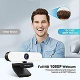 Zoom IMG-1 tecknet webcam 1080p per pc