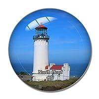 ノースヘッド灯台オレゴン米国冷蔵庫マグネットホワイトボードマグネットオフィスキッチンデコレーション