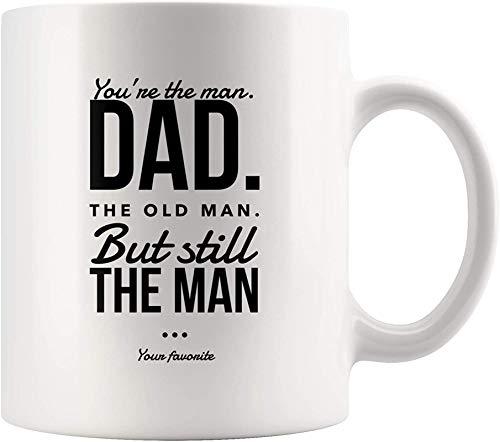 Divertida taza de café de cerámica blanca con diseño de hombre espacial Steal Planet para mujeres, hombres, niños, mamá, papá, amigos