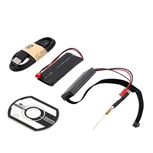 HehiFRlark - Grabador de vídeo de módulo de videovigilancia de cámara IP CCD digital a distancia inalámbrica, 720P HD