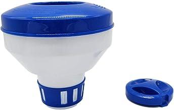 YUACY Dispositivo de dosificación de desinfección de la piscina flotante en el agua Dispositivo de dosificación automático Equipo de limpieza de la piscina ajustable inodoro