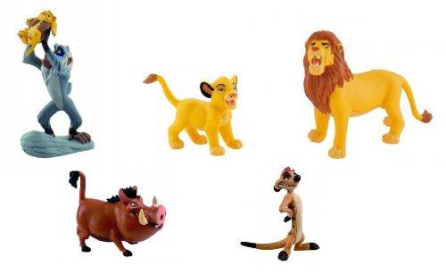 Bullyland König der Löwen alle 5 Figuren als Set