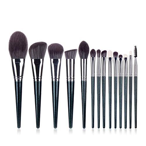 Ensembles de pinceaux de maquillage Outils de beauté multifonctionnels Brosse super douce et antibactérienne en fibre de rayonne pratique