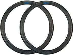 SE Bikes Speedster 29 x 2.1 BMX Street OEM Replacement Wire Bead Dirt Road Bike Tire Pair (Black)