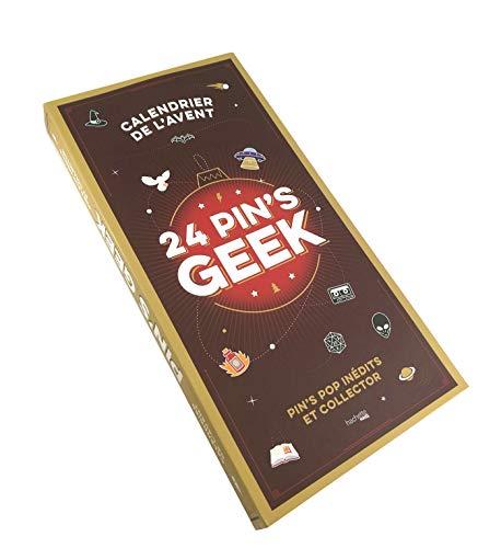 Calendrier de l'avent : 24 pin's geek: Pin's pop inédits et collector