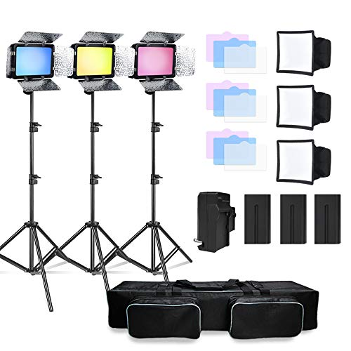 JULIUS STUDIO Continuous LED Video Lighting kit
