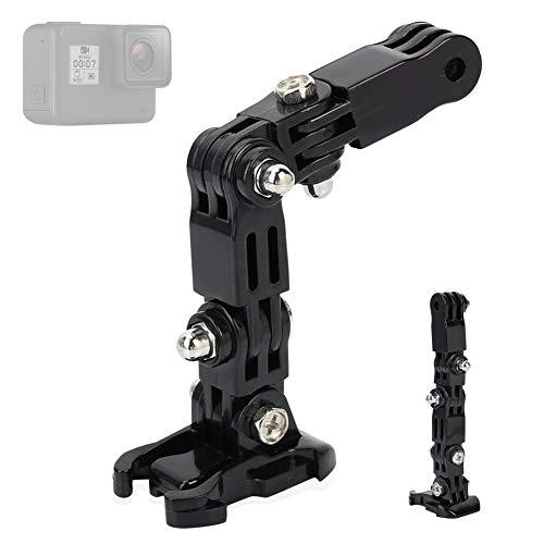 Pomya Kit di Montaggio del Mento del Casco, Supporto per Braccio Regolabile per Casco da Moto Adattatore per Alloggiamento per Videocamera Sportiva Compatibile con GoPro Xiaoyi Action Cameras