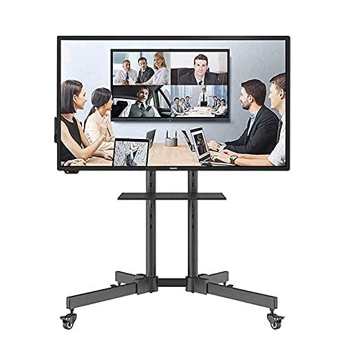 CCAN Nuevo LCD 32-63 Universal LCD TV Soporte móvil Carro-Soporte de Piso de exhibición de conferencias extraíble, Tres Alturas Ajustables Interesting Life