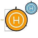 Huakaimaoyi Drone Landing Pad, Coussinets D'Atterrissage Pliables Universels Et Portables pour Hélicoptères Rc Drones, Drones Pvb, Accessoires DJI Mavic-Chine_75Cm De Diamètre
