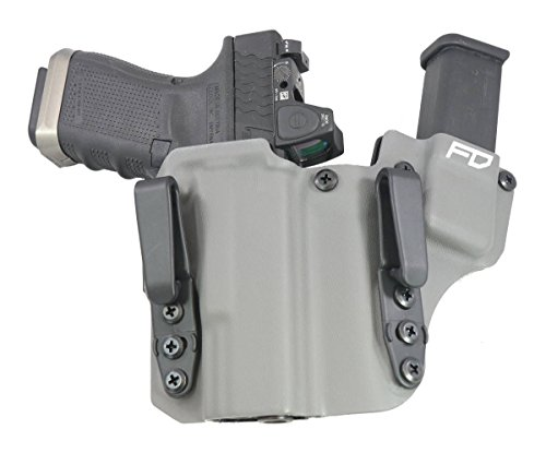 Fierce Defender IWB Kydex Holster Glock 19 23 32' The 1 Series -Made in USA- GEN 5 Compatible...