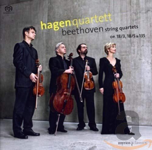 ハーゲン弦楽四重奏団 - ベートーヴェン:弦楽四重奏曲 第3番/第5番/第16番[SACD-Hybrid]