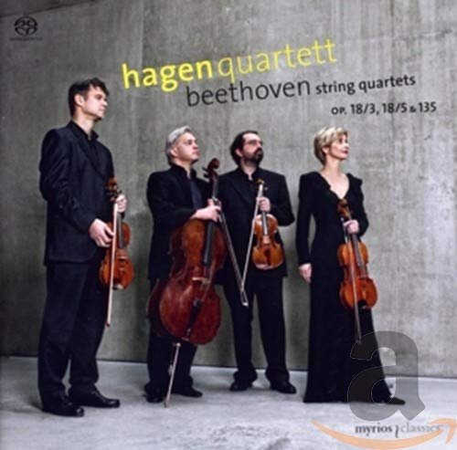 String Quartets Op 18/3, 18/5 & 135