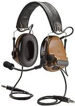 3M PELTOR COMTAC 93440 PELTORCOMTACIII MT17H682FB-19 CY Advanced Combat Helmet (ACH) Communication Headset, Dual COMM, Headband, 2