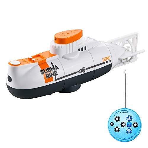 GoolRC Mini RC Submarino Barco de Control Remoto Impermeable Juguete de Buceo Regalo para niños Niños y niñas Regalo de año Nuevo