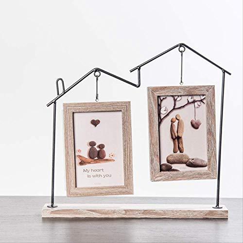 YKDDII Fotolijsten Metaal Home Thema Home Art Decor Fotolijst Voor Kinderen 1 stks Fotolijst Voor Desktop Frames Voor Klassieke Mode Multifunctionele Fotolijst